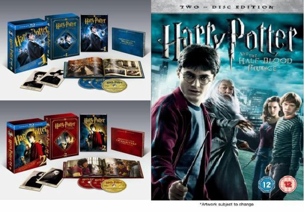 enfin la sortie du dvd blue ray et des coffrets collector harry potter. Black Bedroom Furniture Sets. Home Design Ideas