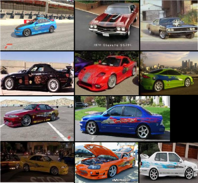 Les Diff 233 Rentes Voitures De Fast And Furious 1 Blog De