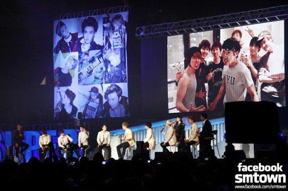 Chine: Super Junior M a tenu un meeting