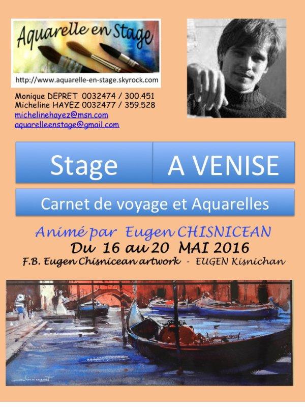 Stage à VENISE avec EUGEN CHISNICEAN