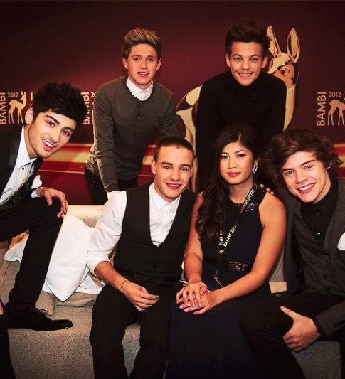 One Direction aux Bambi Awards 2012