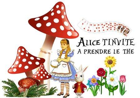 Pour celles qui aiment Alice et son monde magique...