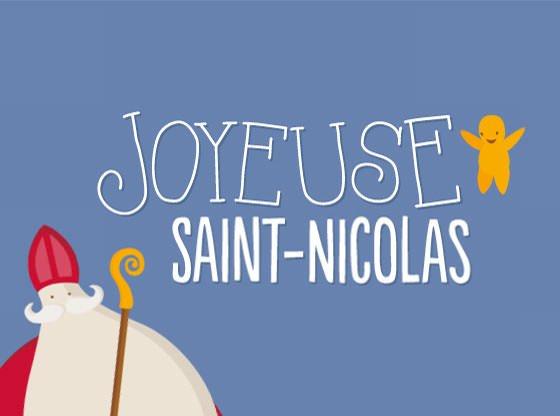 Joyeuse Saint-Nicolas les amis.