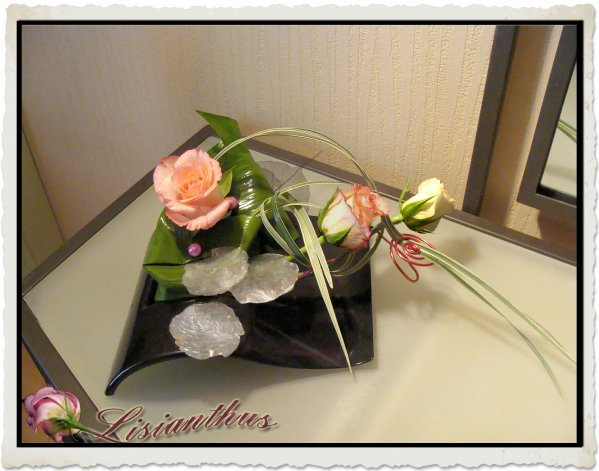Petite Composition Art Floral Bouquet Cr Ations