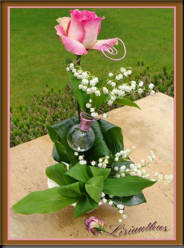 muguet art floral bouquet cr ations florales de. Black Bedroom Furniture Sets. Home Design Ideas