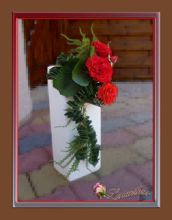vase moderne art floral bouquet cr ations florales de. Black Bedroom Furniture Sets. Home Design Ideas