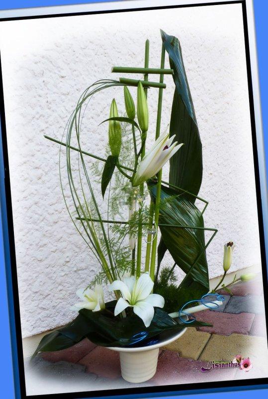 Bateau fleuri