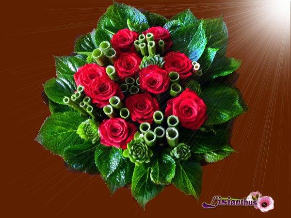 roses & polygonum