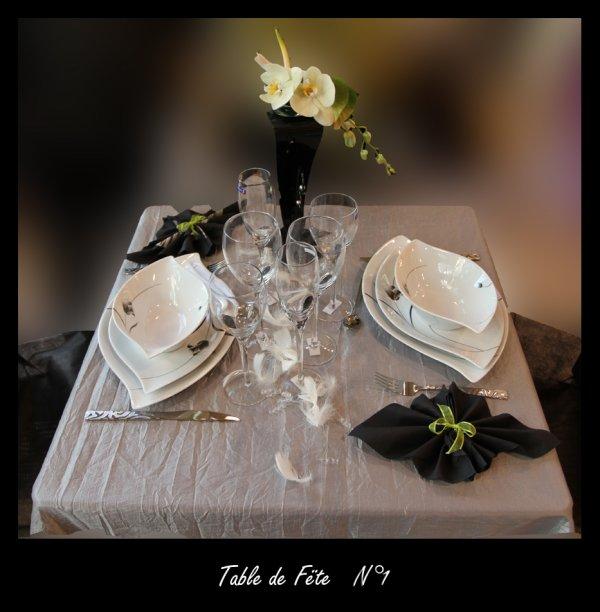 Table de Fëte N° 1