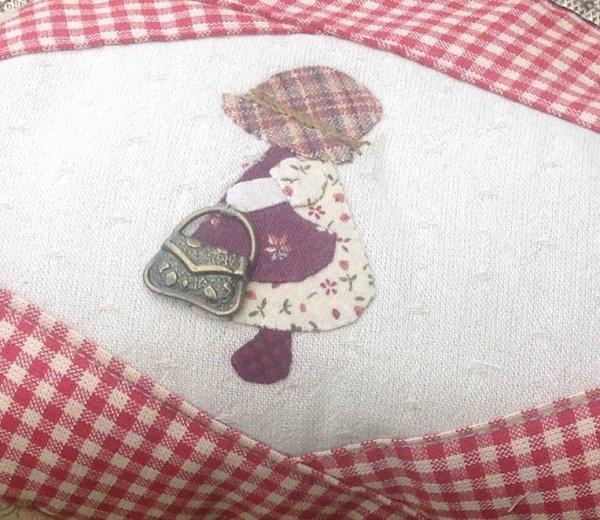 Un tr�s grand porte monnaie ....plut�t une bourse, Je l'aime beaucoup !!! Et il y avait longtemps que je n'avais pas fait de sunb ....