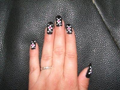 Nouvelle creation pour mes ongles