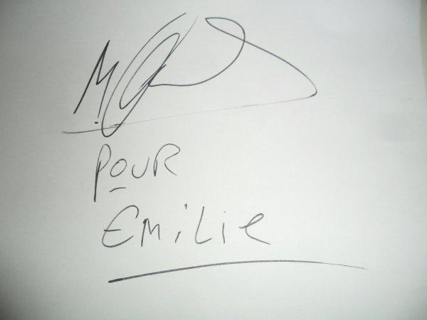 Autographe de ma�tre gims !!!