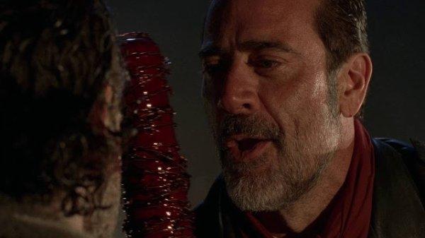 The Walking Dead Rick et Negan avec Lucille