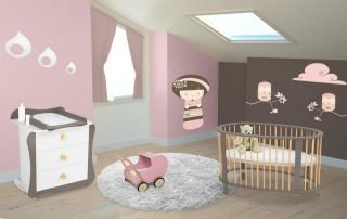 chambre de ma petite fille bonjour. Black Bedroom Furniture Sets. Home Design Ideas