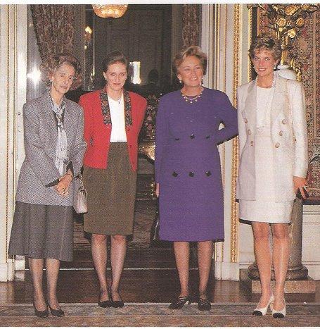 Résultat d'images pour princesse diana en belgique