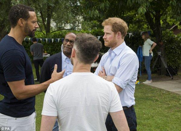 Prince Harry - Heads Together BBQ , le 25 juillet 2016