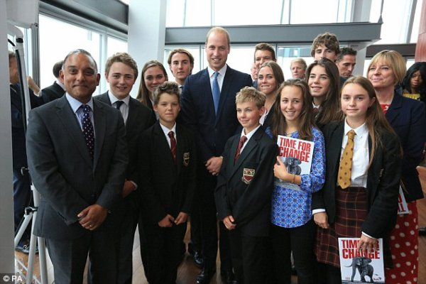 Prince william @Tusk's Time for Change event, The Shard, le 22 septembre 2016 _ Suite