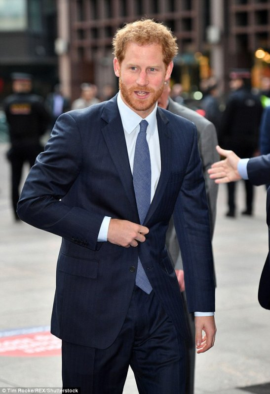 Prince Harry -  ICAP Charity Trading Day  Aid Of Sentebale , le 07 Décembre 2016