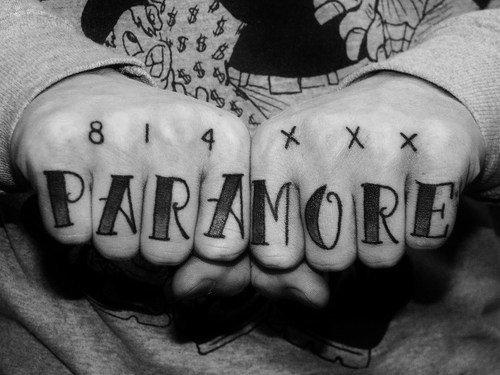~ S�rie Paramore Tatoos ~