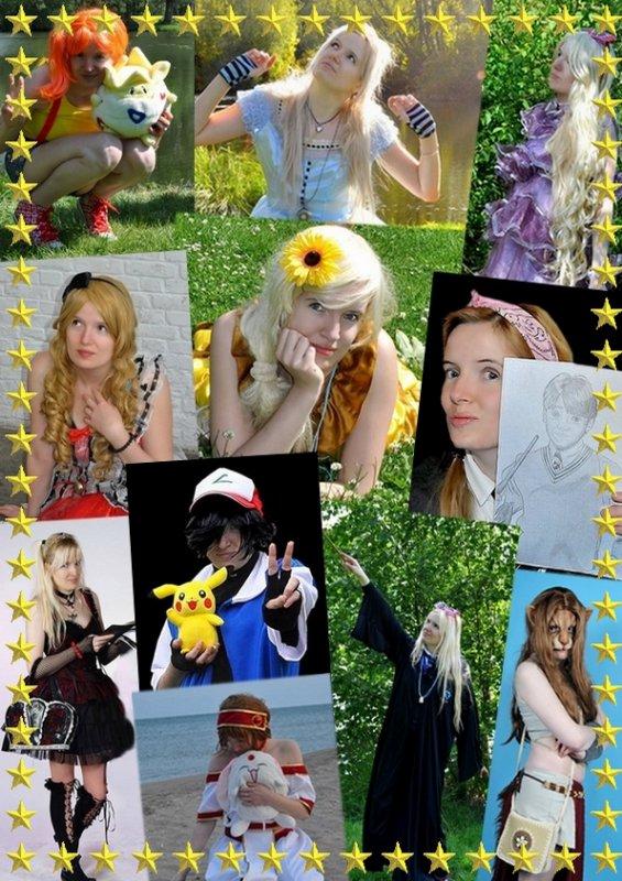 Mes diff�rents cosplays : de 2011 � aujourd'hui