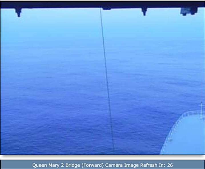 CUNARD QM2 175th ANNIVERSARY CROSSING : AT SEA  09/07/2015