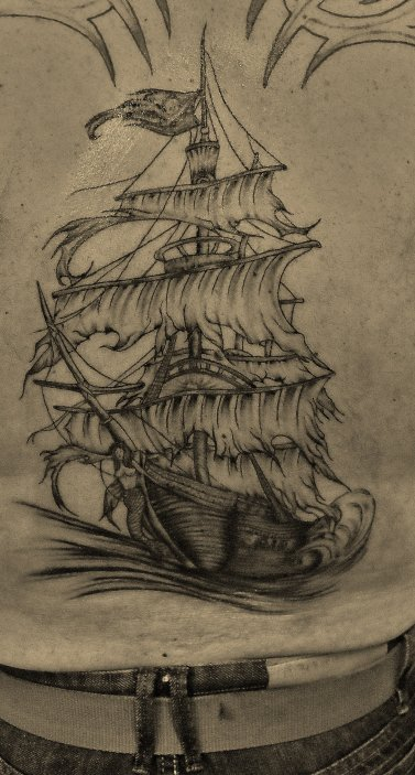 tatouage bateau pirate blog de arts skad tattoo. Black Bedroom Furniture Sets. Home Design Ideas