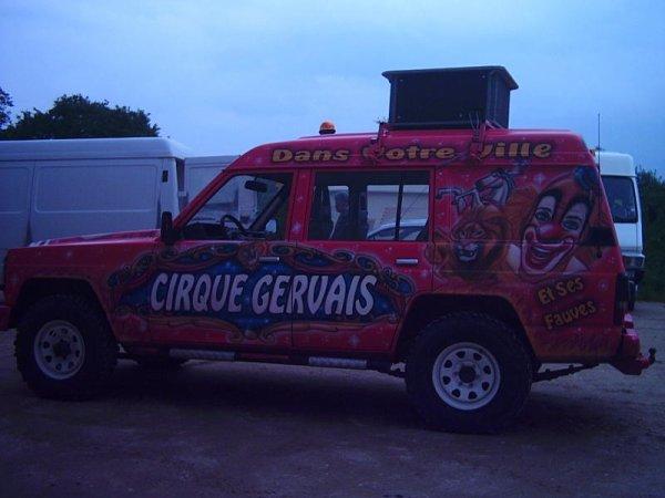 cirque gervais