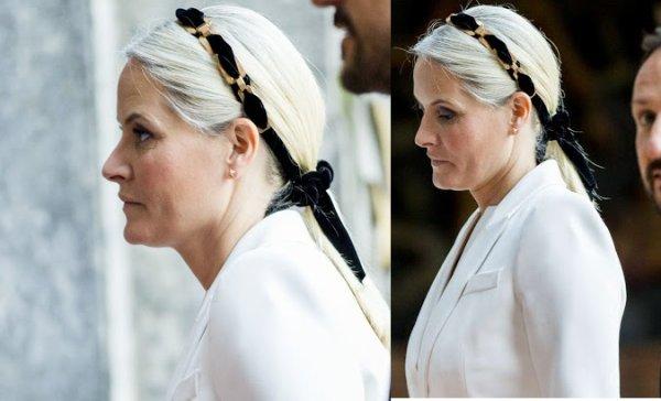 Princess Mette-Marit, Crown Princess of Norway - Accessoires _ Suite