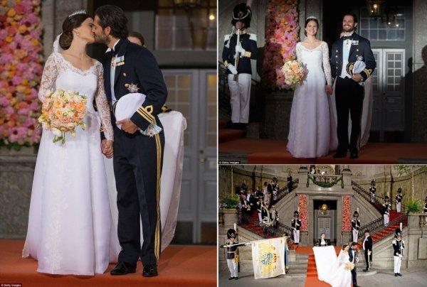 The Wedding Dress of Sofia Hellqvist - Princess Of Sofia of Sweden , Le 13 juin 2015 _ Suite