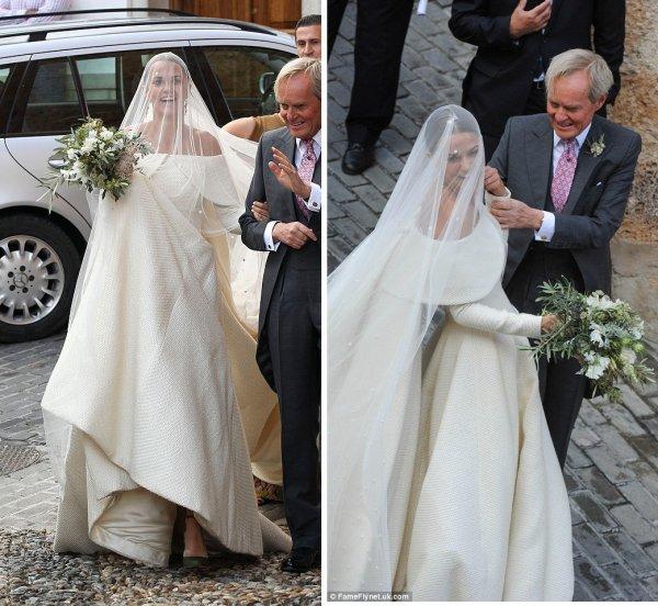 Lady Charlotte Wellesley Wedding Dress 2016