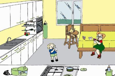 3 les dangers domestique la cuisine accrochez nous for Accident domestique cuisine