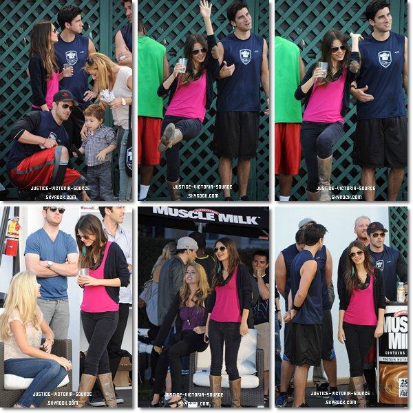 03 / 06 / 2011 – Hier Victoria et Ryan Rottman ont assister au Muscle Milk Fitness Retreat, c'est que l'on commence � les voir souvent ensemble...