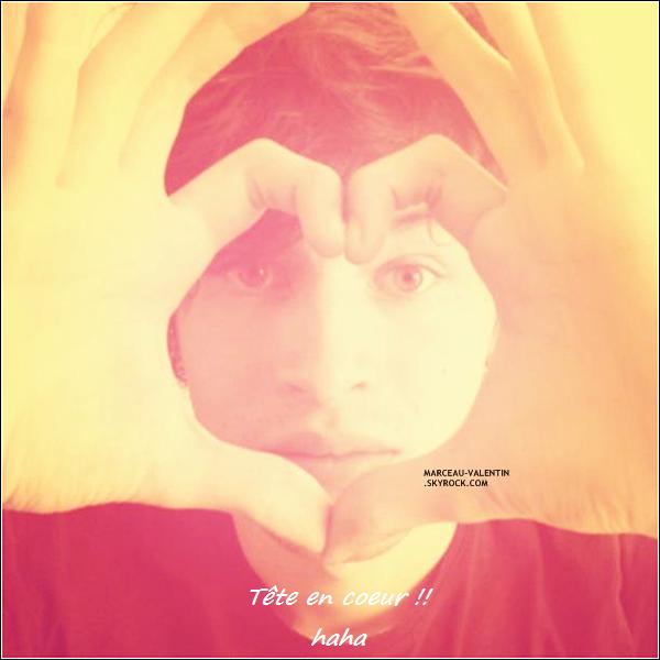 .  D�couvrez une nouvelle image provenant du compte Facebook de K�vin Evan's avec Valentin. + TOP, BOF, FLOP ?.  .