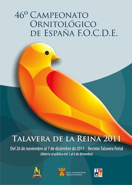 CONCURSOS 2011 EN LOS QUE ACTUAR� COMO JUEZ DE CANARIOS DE COLOR