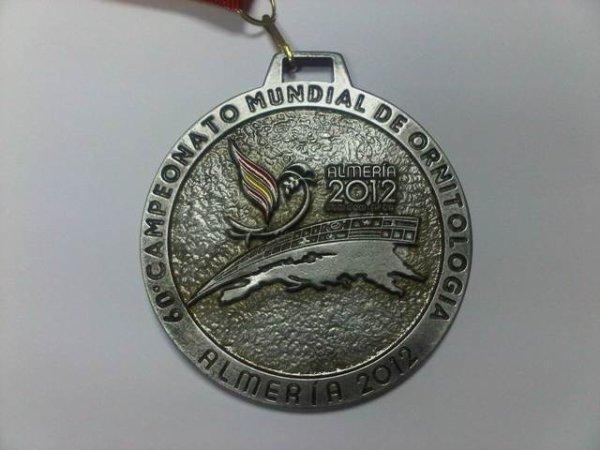 MEDALLAS DEL MUNDIAL - M�DAILLES DU MONDIAL