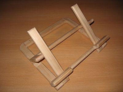 Lutrin porte pc portable gag delires en bois - Porte ordinateur portable ...
