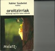 Oroitzirriak II