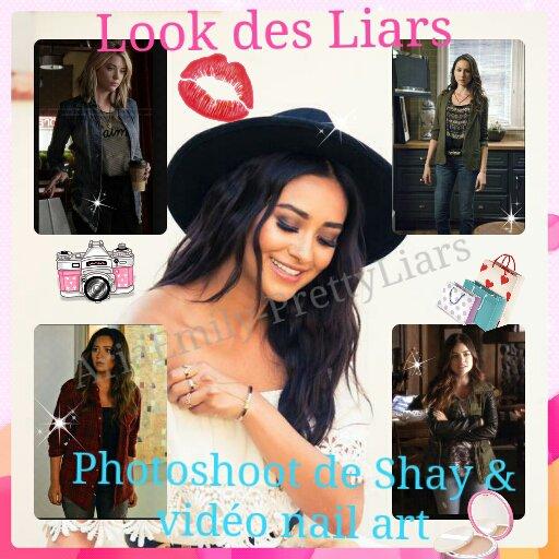 Le look de nos Liars & photoshoot/ vid�o de Shay Mitchell