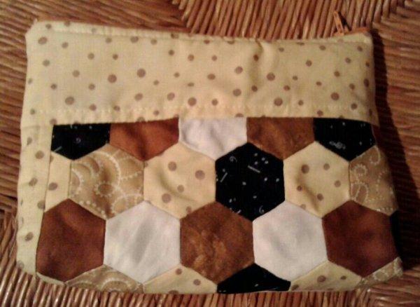 Trousse en patchwork