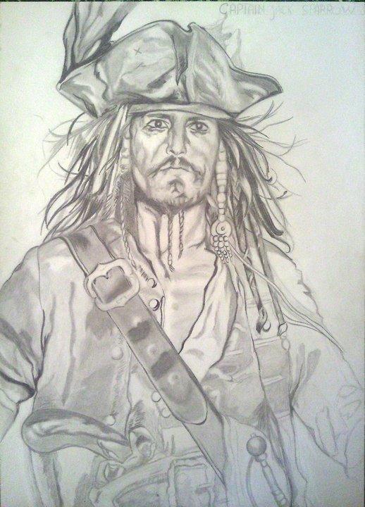 Johnny depp dessin au crayon valerie drawing - Dessin johnny depp ...