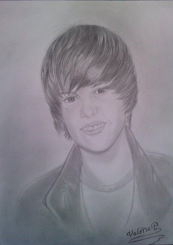 Justin bieber dessin au crayon valerie drawing - Justin bieber dessin ...