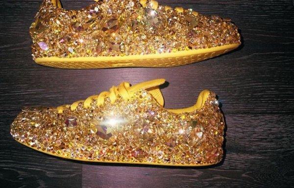 Les chaussures de pharrell