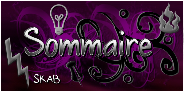 Bienvenue, Sommaire et Newsletter