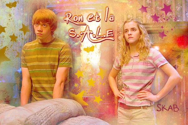 Citations de Ron Weasley en parlant avec Hermione Granger