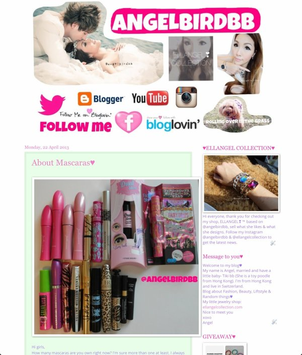 Visit my new blog♥
