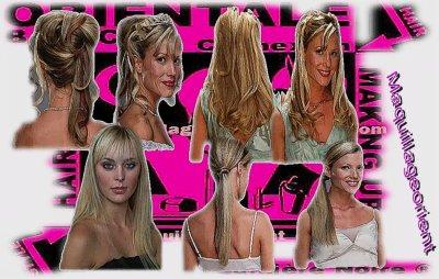 Les coiffures quon peux faire avec les extension à clips .