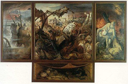 Sujet n�3 : Aquarelle tranch�es ; Otto dix : La Guerre