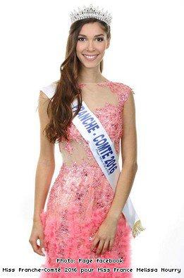 Miss Franche-Comté 2016, Mélissa Nourry