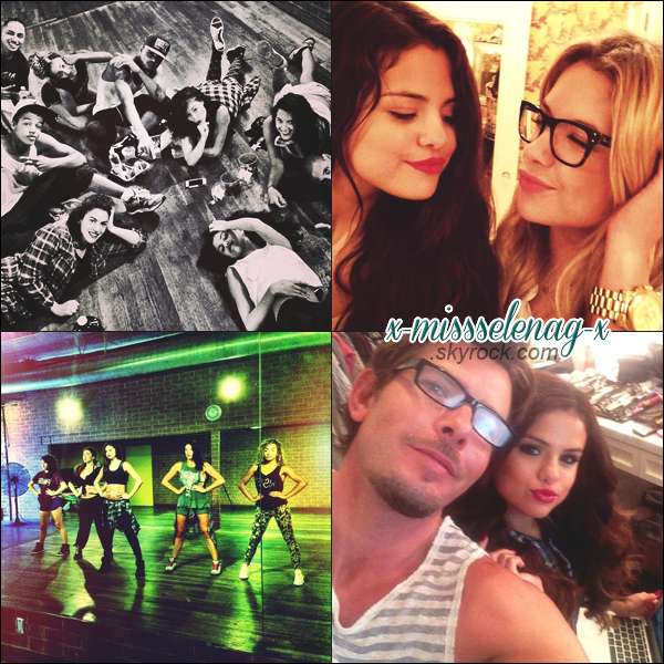 + July 19th  ; Selena a �t� vue quittant le salon de coiffure . + De nombreuses photos personnelles de Selena. +