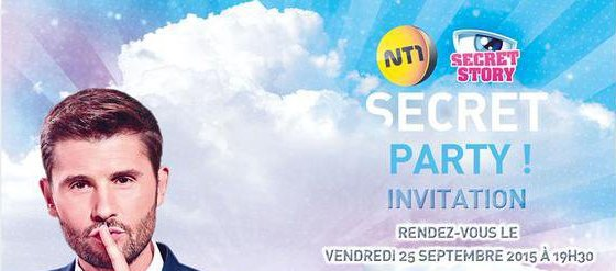 Suivez la #SECRETPARTY en direct !